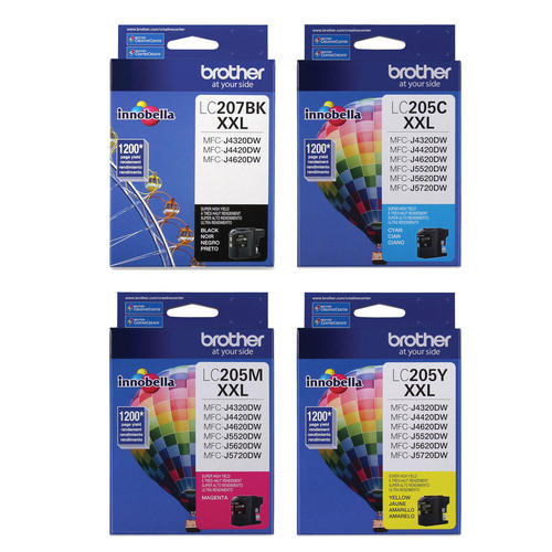 Brother LC205 Super High Yield Ink Cartridge