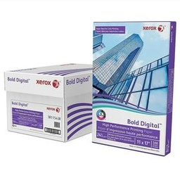 Xerox Bold 60lb Digital Printing Paper Cover, 8.5x11, 250 Sheets