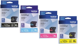 Brother LC103 High Yield Ink Cartridge