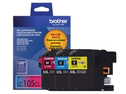 Brother LC105 Super High Yield Ink Cartridge - Colour Combo Pack