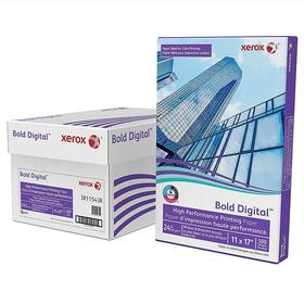 Xerox Bold 24lb (70lb Text) Multiuse Copy Paper, 11x17, 2500 Sheets
